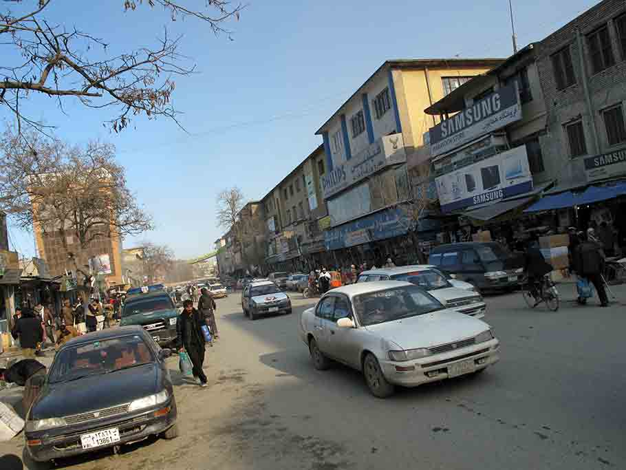 Road in Kabul