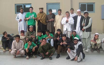 GSD Afghan teens