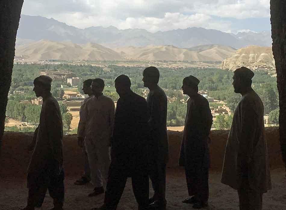 Afghan teens in GSD program