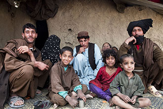 Internally displaced Afghans