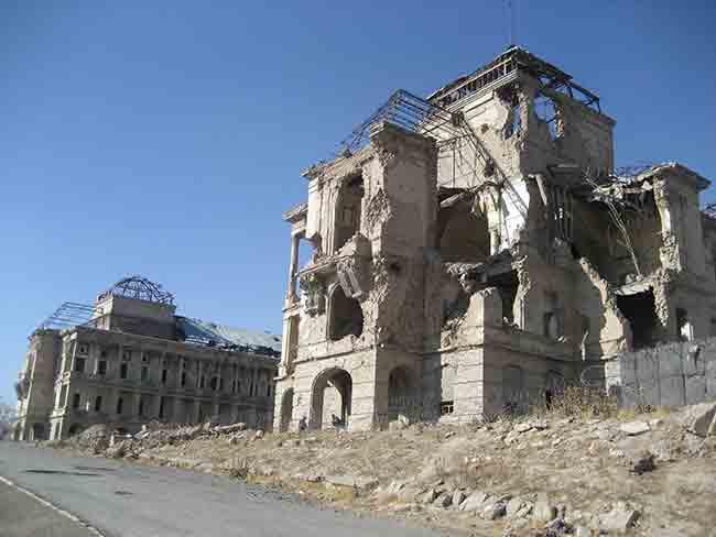 Darul Aman Palace after