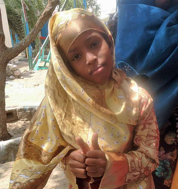 Somali girl
