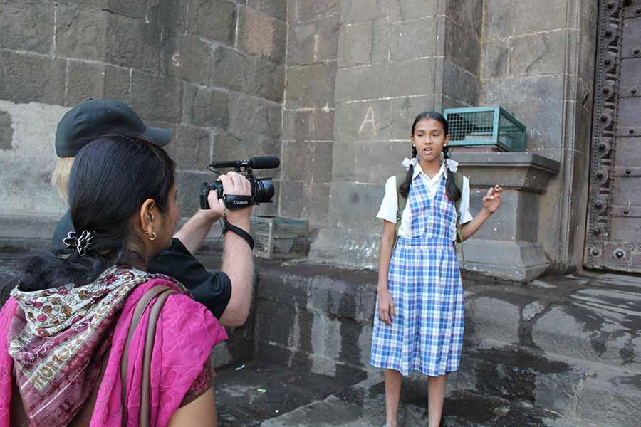 Laxmi at the fort