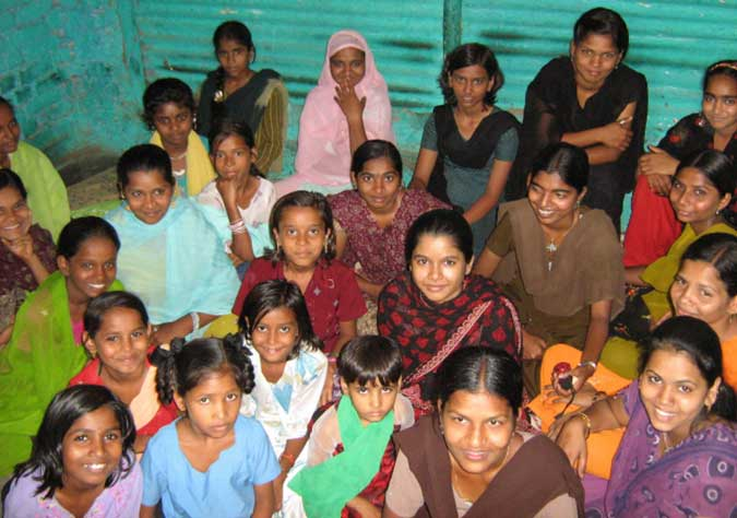 Indian girls at last youth meeting
