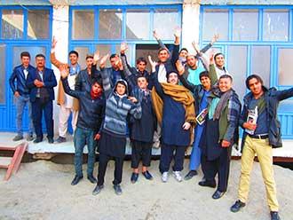 Afghanistan Hamdard team