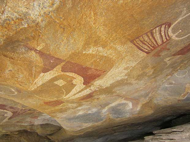 Cave paintings in Somaliland
