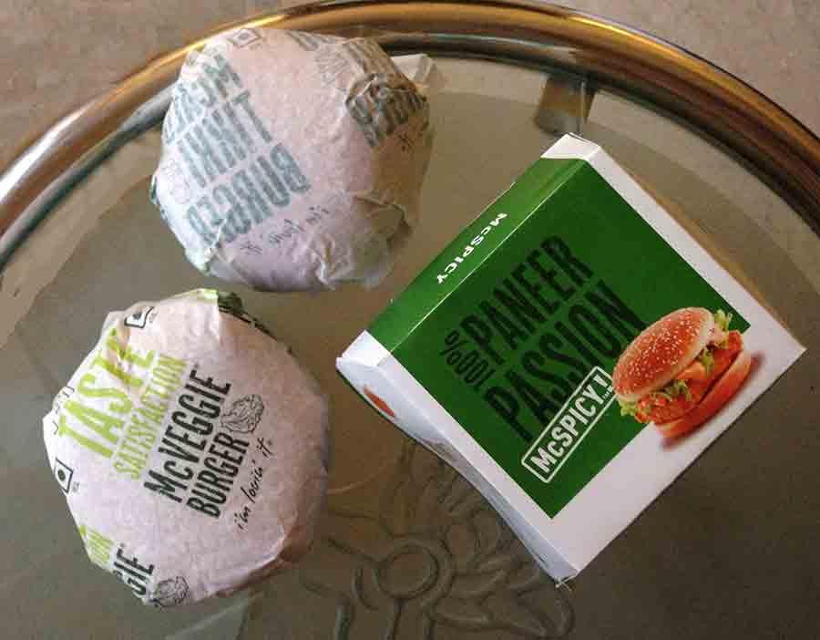 McDonald's sandwhich