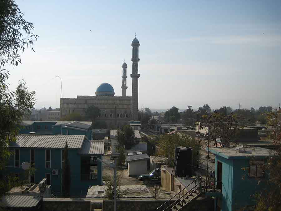 Mosque in middle east