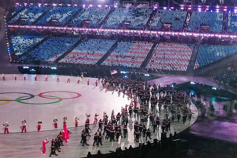 Winter Olympics blog post