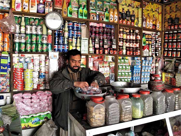 Convenience store in Afghanistan