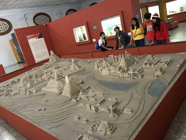 Scale model of Tikal
