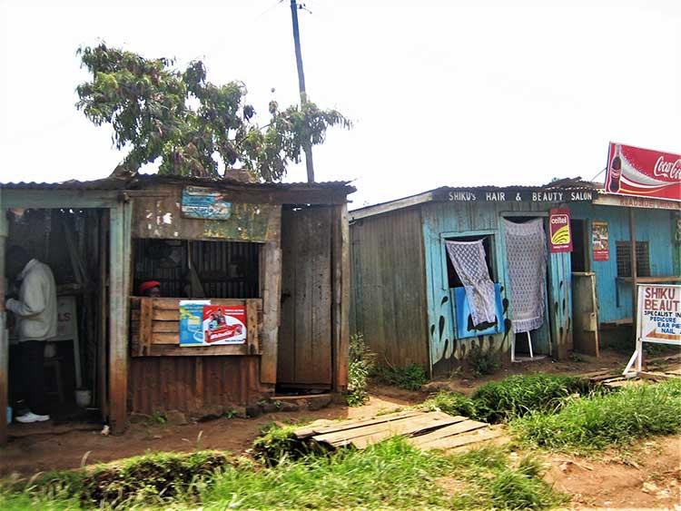 Small store in Kenya
