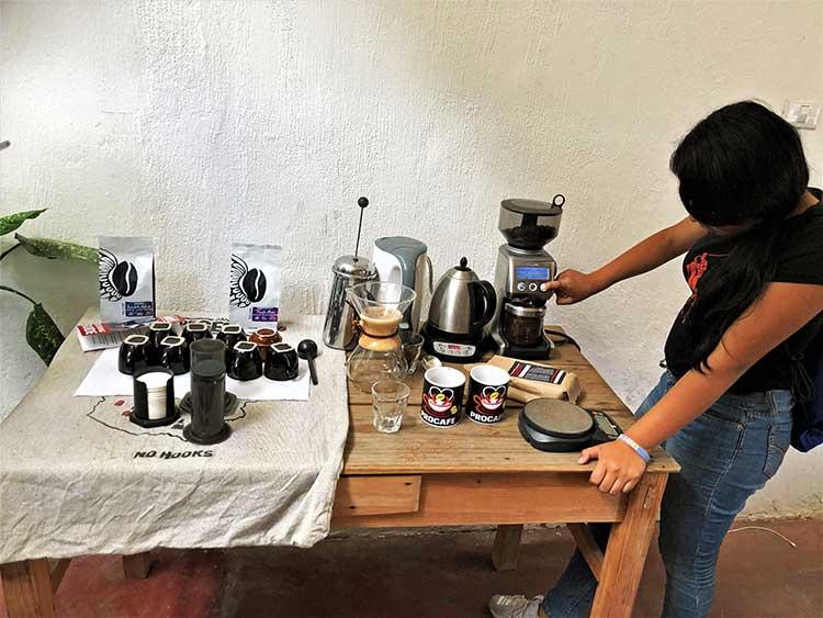 Coffee making supplies