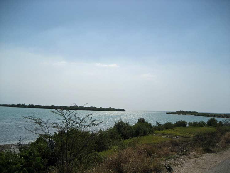 Caribbean Sea off coast of Haiti