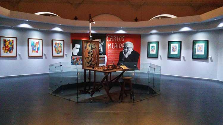 Carlos Merida exhibit