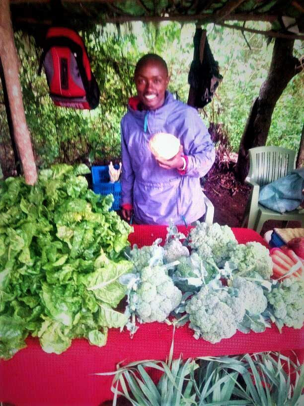 Mwanzia with vegetables