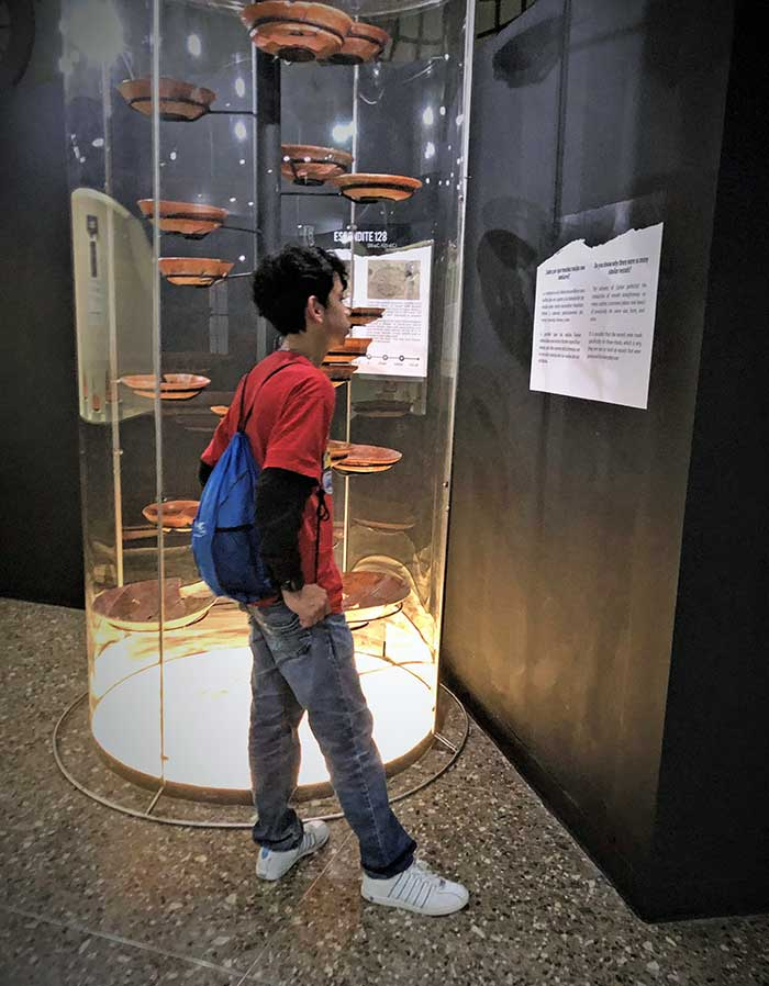 Touring anthropology museum