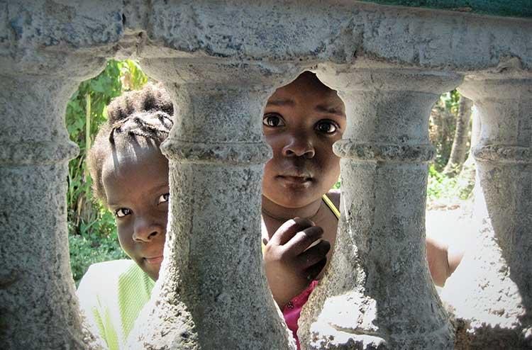 Haitian kids