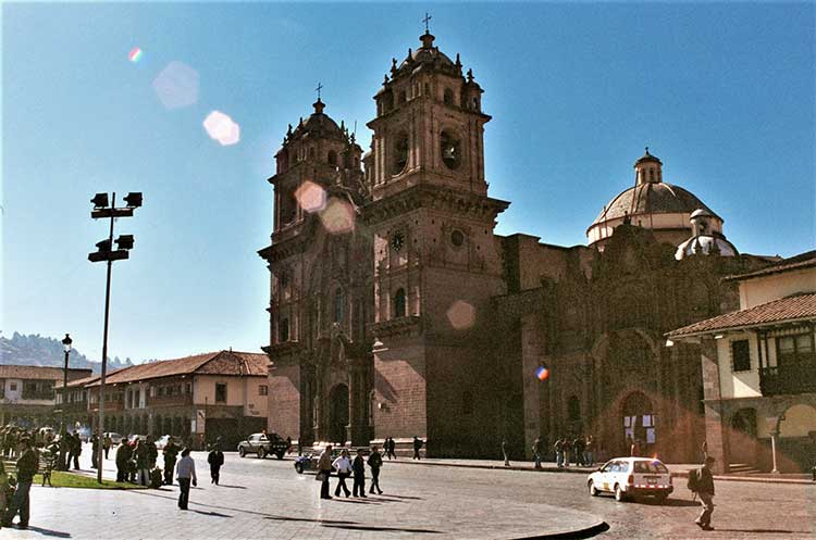 Cathedral in Cusco, Peru