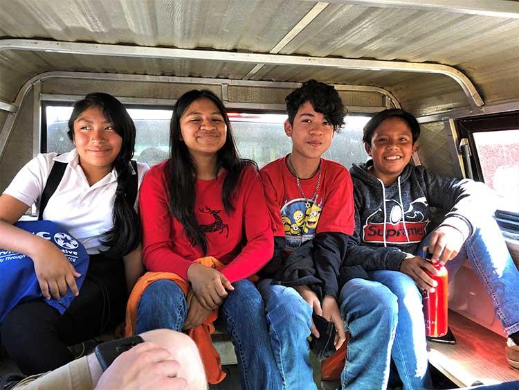 Guatemalan teenagers