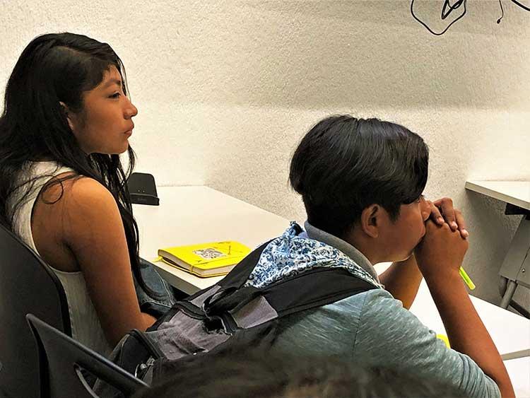 Class at Marroquin University in Guatemala