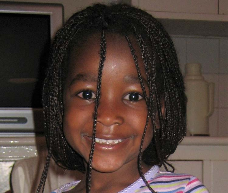Small Kenyan girl