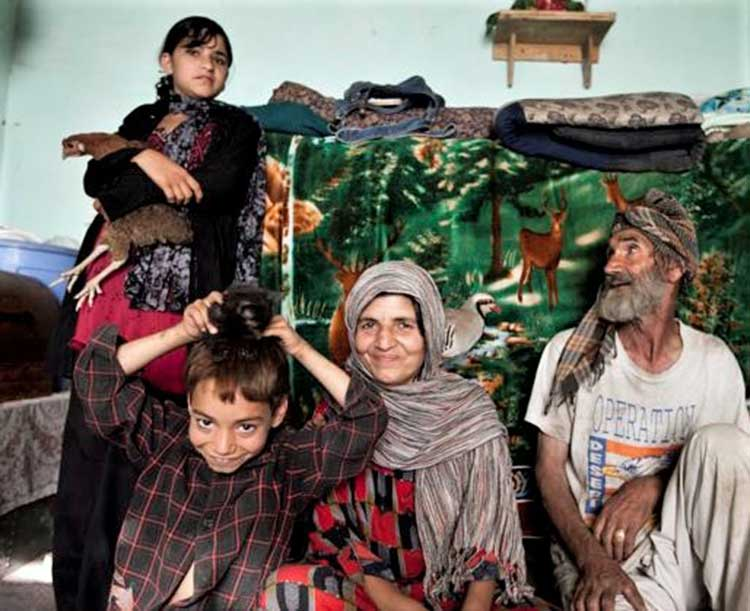 Karima's family