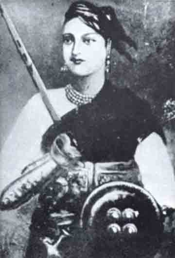 Portrait of Rani of Jhansi
