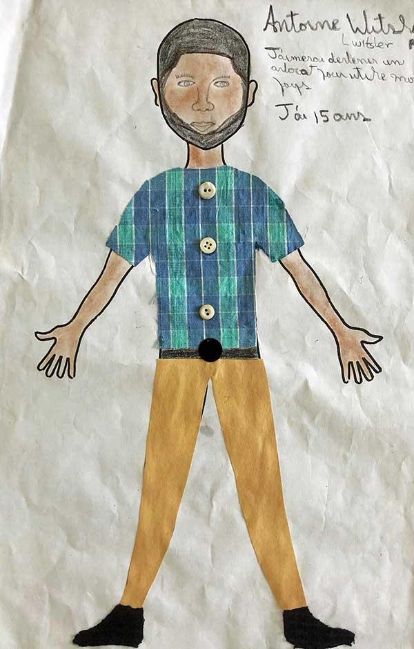 Antoine's paper doll design