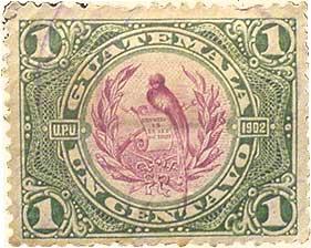 Guatemala stamp