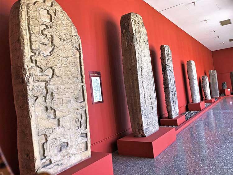 Guatemalan history exhibition