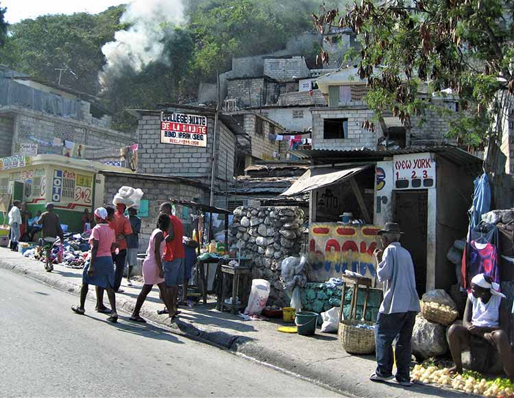 Street in Haiti