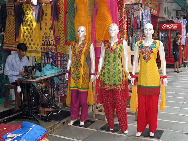 Tailor's street shop