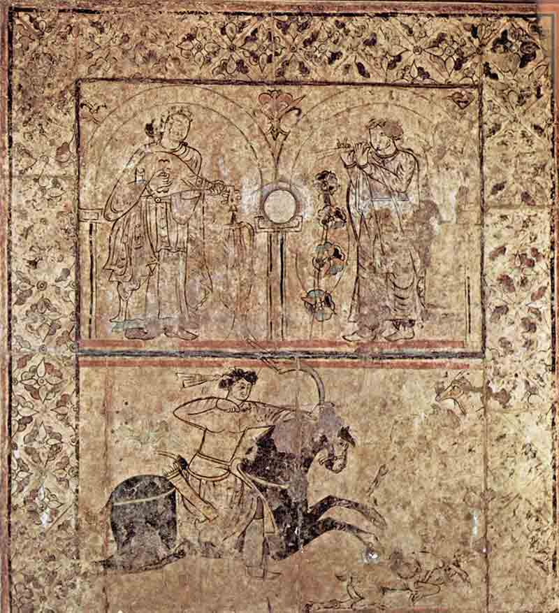 Ancient Iraqi painting