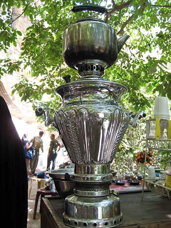Silver coffeepot