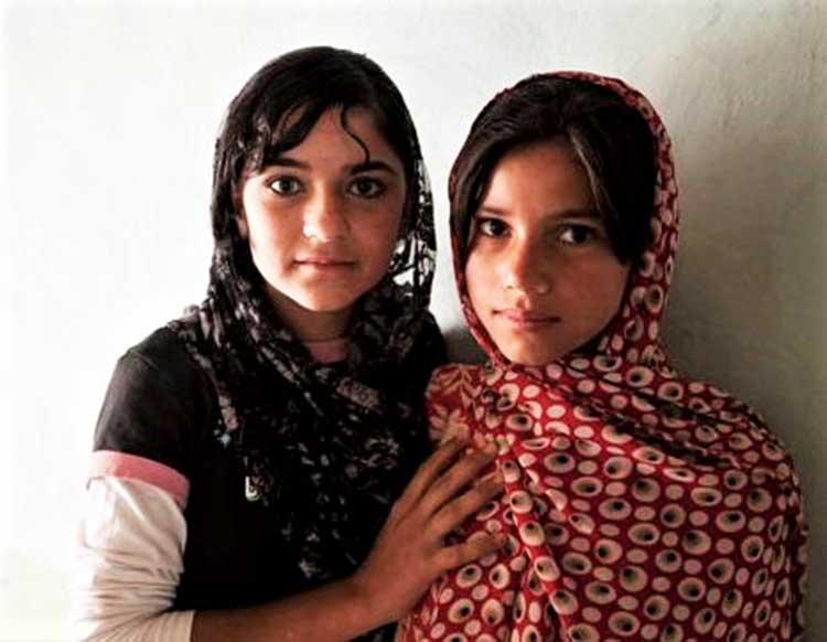Afghan teens