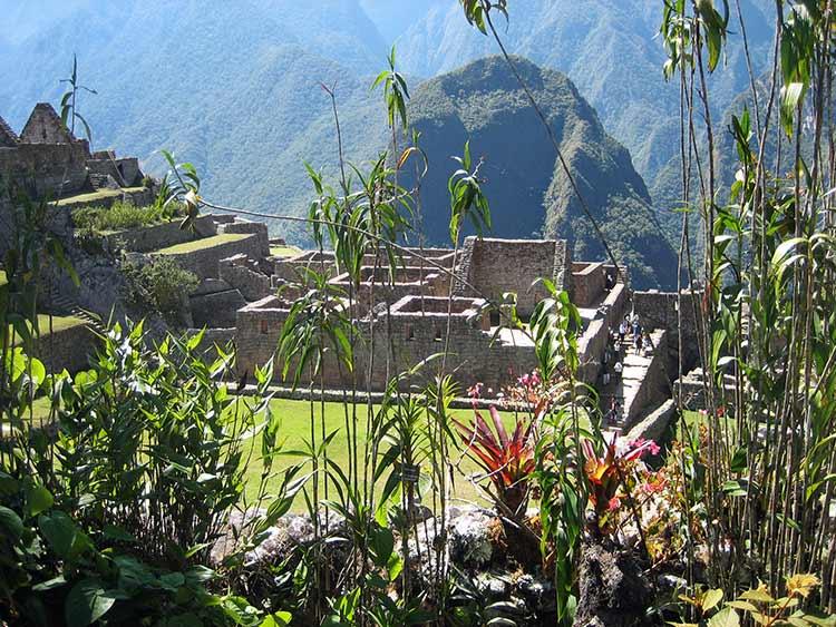 Structures at Macchu Pichu