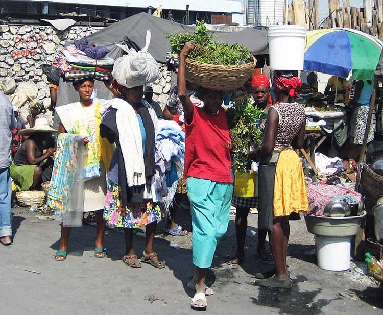Marketplace in Haiti