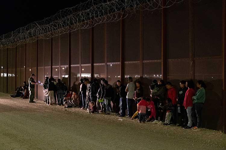 Migrants apprehended at U.S. border