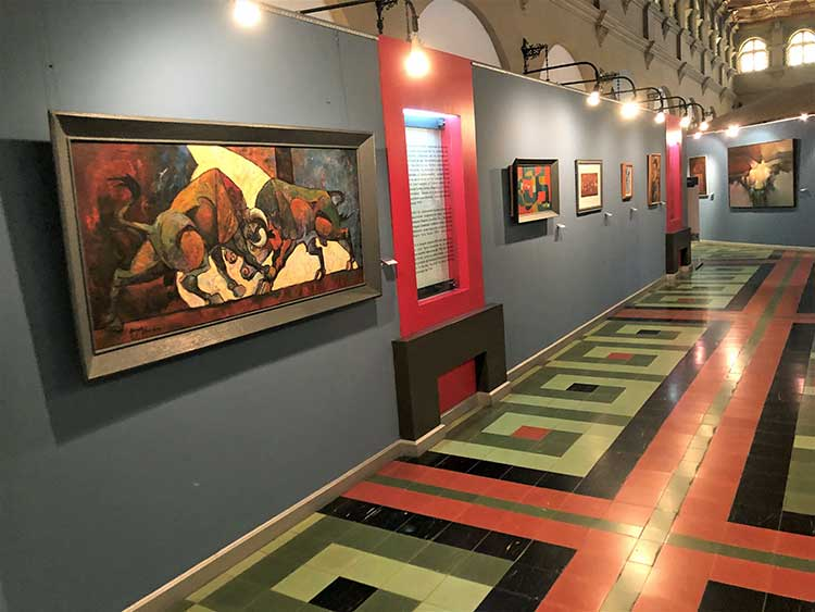 Exhibition at Carlos Merida museum
