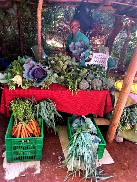 Mwanzia in the market