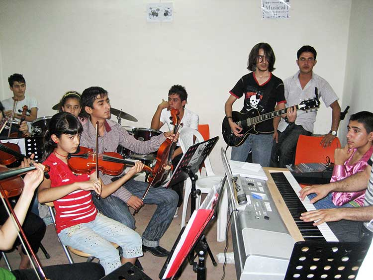 Iraqi kids band