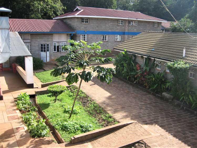 Garden at Nyumbani