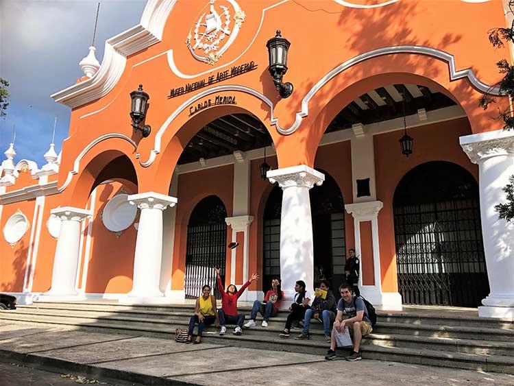 National museum of modern art in Guatemala City