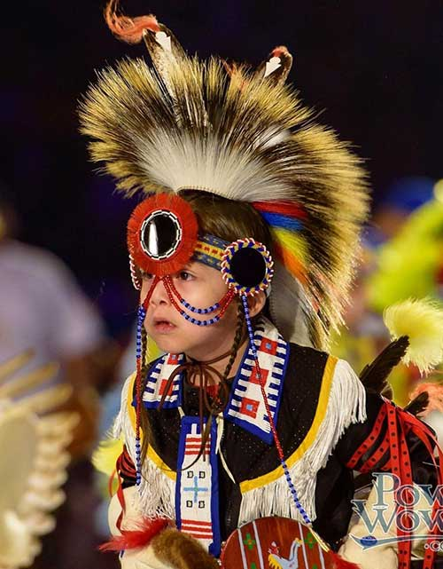 Native American youth