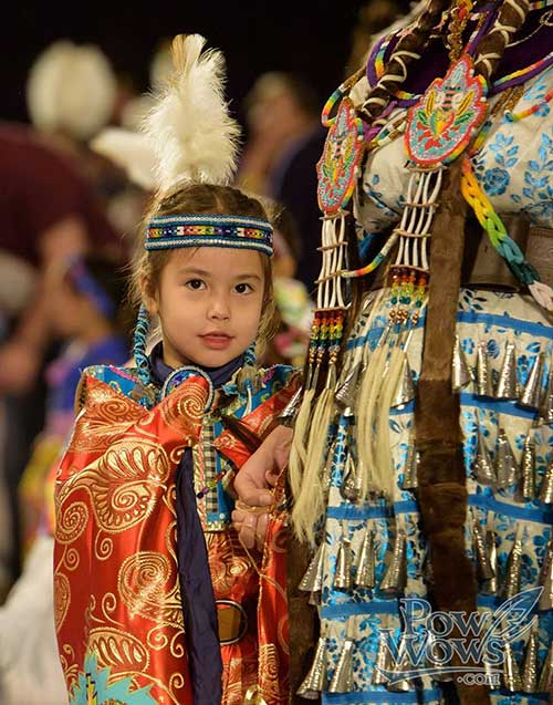 Young boy in cultural dress