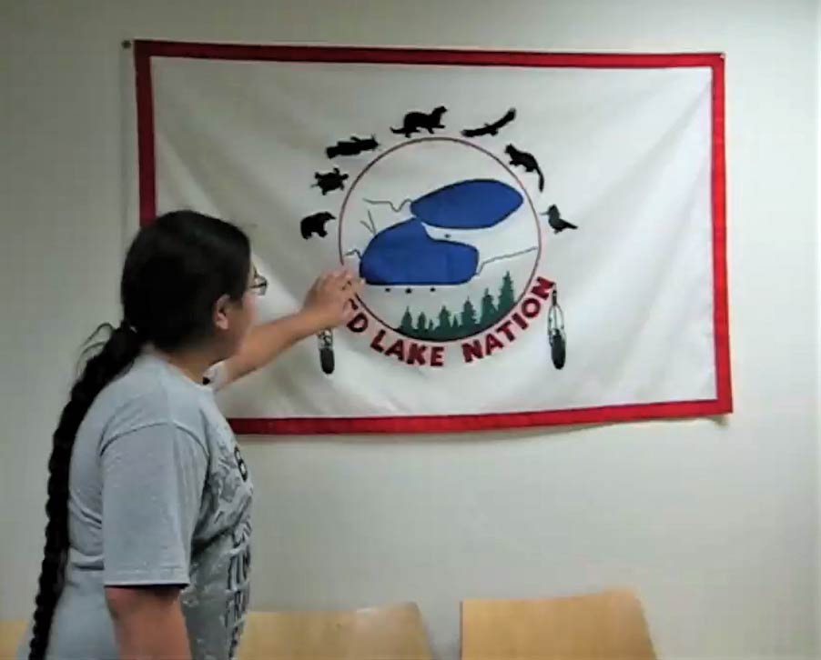 Red Lake flag