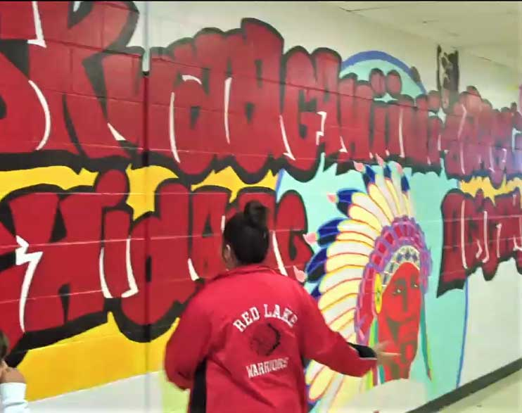 Red Lake school
