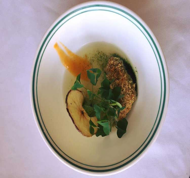 Native walleye dish