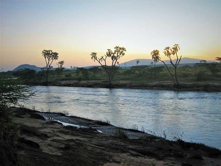 River in Kenya